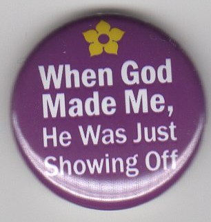 when god made you he was showing off